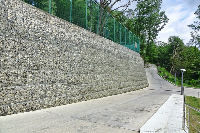 City Retaining Wall Sutherland
